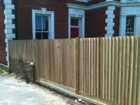 fence can be made to go over obsticles such as walls<br>