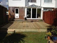 decking at different levels <br>